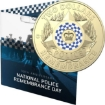 Picture of 2019 Wallabies Rugby $2 In Folder + 2019 ASIO 50 Cent Coin + 2019 Police Remembrance Day $2 'C' Mintmark