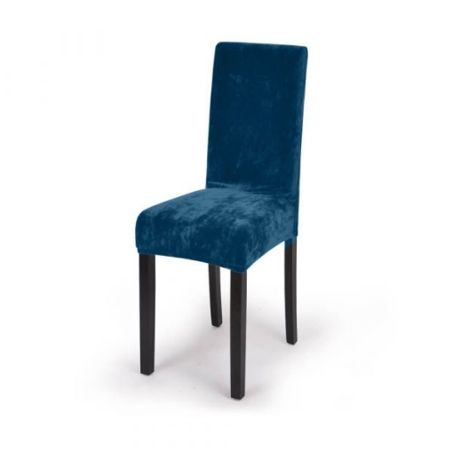 Dining Chair cover blue