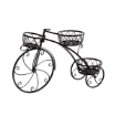 metal Plant Stand Cycle Shape Black