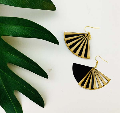Duplet Wing Earrings