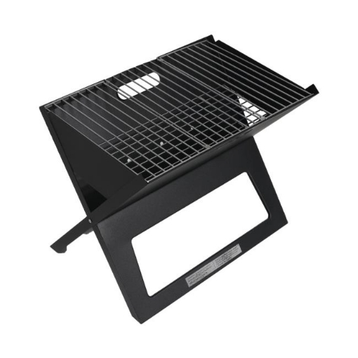 Picture of Portable BBQ Charcoal Grill Outdoor Camping Barbecue Picnic Foldable Steel Stove | Free Delivery