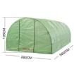 Picture of Greenhouse Plastic Cover Film Walk in Outdoor Garden Green House Tunnel 6X3X2M | Free Delivery