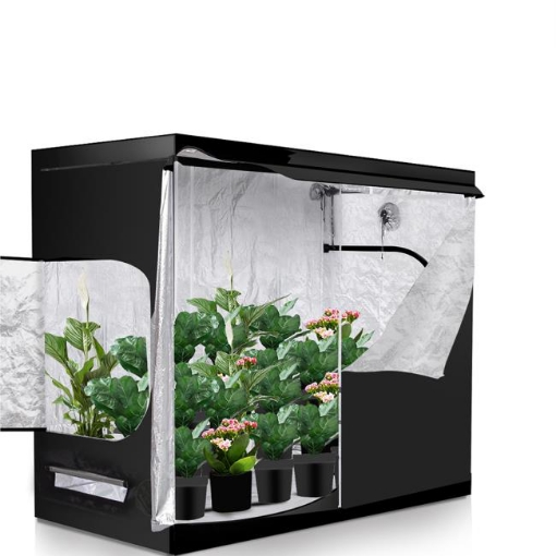 Picture of Garden Hydroponics Grow Room Tent Reflective Aluminum Oxford Cloth 240x120cm | Free Delivery