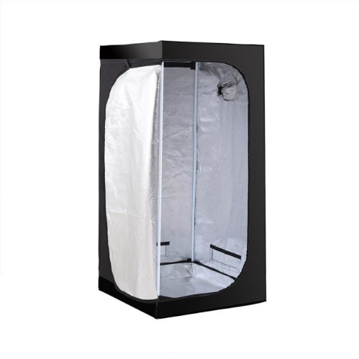 Picture of Garden Hydroponics Grow Room Tent Reflective Aluminum Oxford Cloth 75x75x160cm | Free Delivery