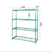 Picture of 2x 4 Tier Plant Shelve Garden Greenhouse Steel Storage Shelving Frame Stand Rack | Free Delivery
