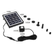 Picture of Solar Fountain Water Pump Kit Pond Pool Submersible Outdoor Garden 1.5W | Free Delivery