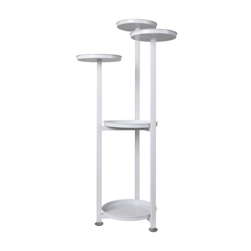 Picture of Levede Plant Stand Outdoor Indoor Flower Pots Rack Garden Shelf White 100CM | Free Delivery