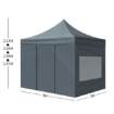 Picture of Mountview Gazebo Tent 3x3 Outdoor Marquee Gazebos Camping Canopy Mesh Side Wall | Free Delivery