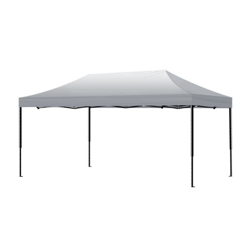 Picture of Mountview Gazebo Tent 3x6 Outdoor Marquee Gazebos Camping Canopy Wedding Silver | Free Delivery