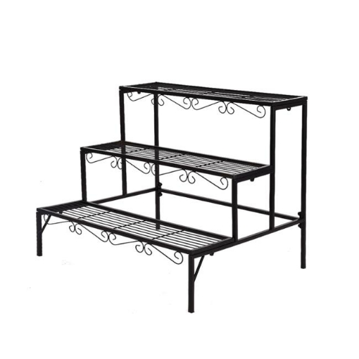 Picture of 2x Levede Plant Stands Outdoor Indoor Garden Metal 3 Tier Planter Corner Shelf | Free Delivery