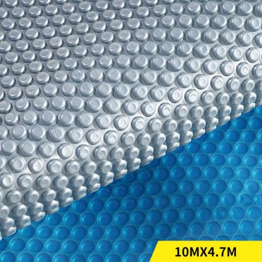 Picture of Solar Swimming Pool Cover 500 Micron Outdoor Blanket Isothermal Bubble 7 Size | Free Delivery