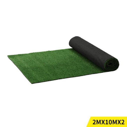 Picture of 40SQM Artificial Grass Lawn Flooring Outdoor Synthetic Turf Plastic Plant Lawn | Free Delivery