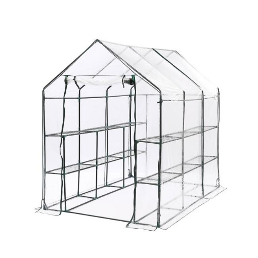 Picture of 3 Tier Walk In Greenhouse Garden Shed PVC Cover Film Tunnel Green House Plant | Free Delivery
