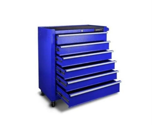 Picture of Giantz 6 Drawer Tool Box Storage - Blue | Free Delivery