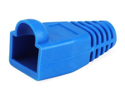 Picture of RJ45 Boot Blue PK100 | Free Delivery
