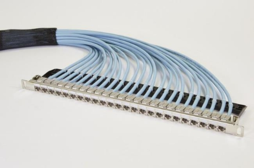 Picture of 15M CAT6A Pre-Terminated Panel RJ45 S/FTP | Free Delivery