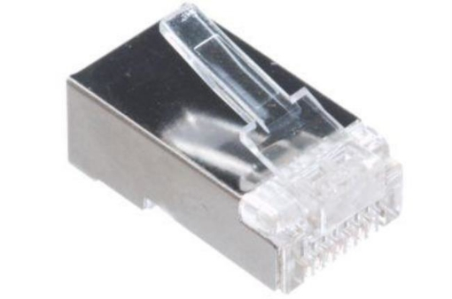 Picture of RJ45 Crimp Plug 8P8C Cat6 Shielded (100PK) | Free Delivery