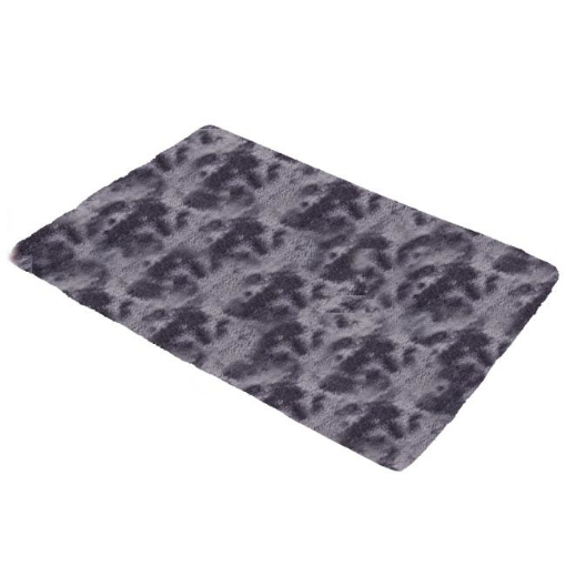 Picture of Floor Rug Shaggy Rugs Soft Large Carpet Area Tie-dyed Midnight City 160x230cm | Free Delivery
