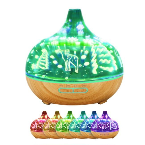 Picture of Aroma Diffuser Aromatherapy Ultrasonic Humidifier Essential Oil Purifier Deer | Free Delivery