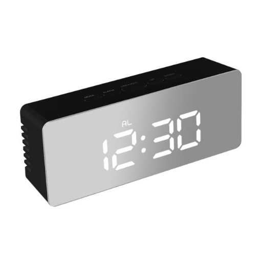 Picture of Digital Clock LED Display Desk Table Temperature Alarm Time Modern Home Decor | Free Delivery