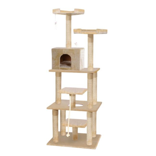 Picture of PaWz 1.98M Cat Scratching Post Tree Gym House Condo Furniture Scratcher Tower | Free Delivery