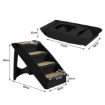 Picture of Pet Stairs Ramp Steps Portable Foldable Climbing Ladder Soft Washable Dog Black | Free Delivery