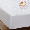 Picture of DreamZ Terry Cotton Fully Fitted Waterproof Mattress Protector in Single Size | Free Delivery