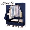 Picture of Levede Portable Wardrobe Clothes Closet Storage Cabinet 4 Drawer Navy Blue | Free Delivery