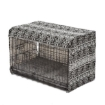 Picture of PaWz Pet Dog Cage Crate Metal Carrier Portable Kennel With Bed Cover 48"