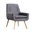 Picture of 2x Levede Luxury Upholstered Armchair Dining Chair Accent Sofa Padded Fabric | Free Delivery