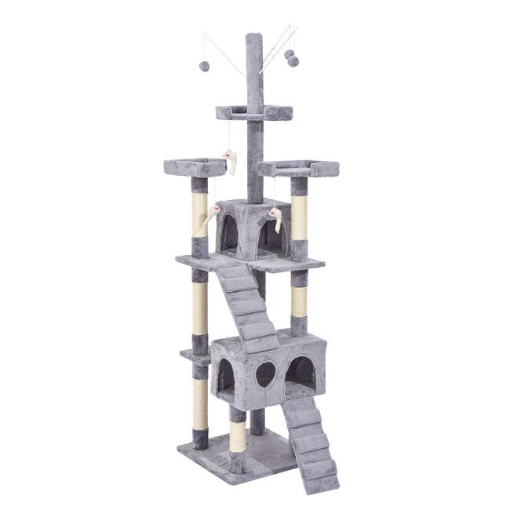 Picture of PaWz 2.1M Cat Scratching Post Tree Gym House Condo Furniture Scratcher Tower | Free Delivery