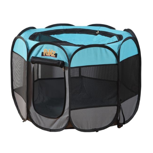 Picture of PaWz Dog Playpen Pet Play Pens Foldable Panel Tent Cage Portable Puppy Crate 52"