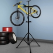 Picture of Bike Repair Stand Work Rack With Tool Tray Mechanic Bicycle Maintenance Blue | Free Delivery