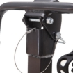 Picture of Monvelo Car Bike Rack Carrier 4 Rear Mount Bicycle Steel Foldable Hitch Mount | Free Delivery