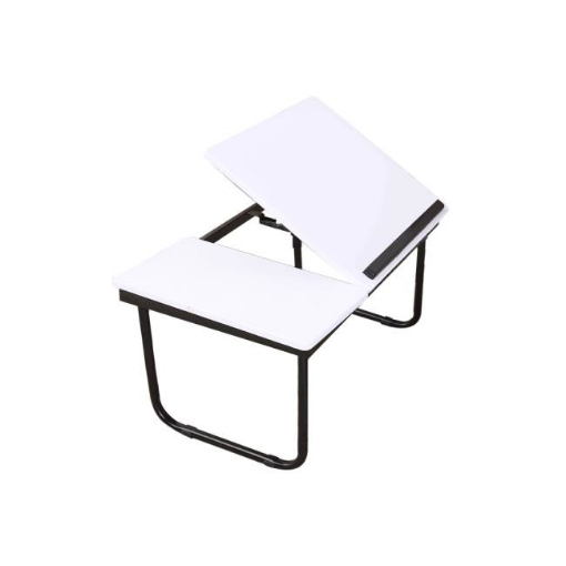 Picture of Foldable Bed Tray Laptop Table Stand Tablet  Portable Tables White | Free Delivery