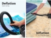 Picture of Electric Air Pump Inflatable 240V Air Mattress Camping Track Mat Deflate Inflate | Free Delivery
