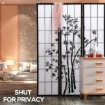 Picture of Levede 3 Panel Free Standing Foldable  Room Divider Privacy Screen Bamboo Print | Free Delivery