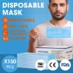 Picture of Face Mask Filter Disposable Masks Anti Dust PM2.5 Respirator Air Pollution x150 | Free Delivery