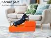 Picture of PaWz Pet Stairs Steps Ramp Portable Foldable Climbing Staircase Soft  Dog Orange | Free Delivery
