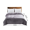 Picture of DreamZ 320GSM 220x240cm Ultra Soft Mink Blanket Warm Throw in Silver Colour   Free Delivery