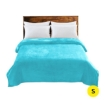 Picture of DreamZ 320GSM 220x160cm Ultra Soft Mink Blanket Warm Throw in Teal Colour | Free Delivery