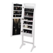 Picture of Levede Mirror Jewellery Cabinet Dressing Makeup Jewelry Storage  Organiser Wood | Free Delivery