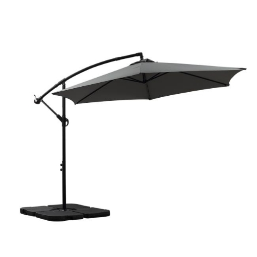 Picture of 3M Outdoor Umbrella Cantilever Base Stand Cover Garden Patio Beach Umbrellas | Free Delivery