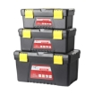 Picture of 3 Piece Tool Boxes Set Organiser Trays Chest DIY Garage Toolbox Case Storage Bag | Free Delivery