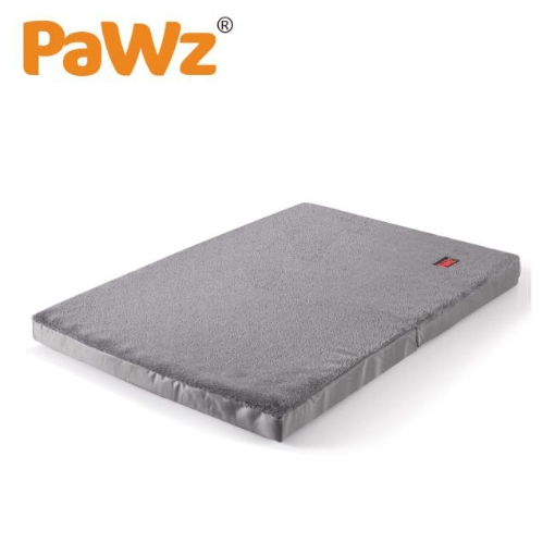 Picture of PaWz Pet Bed Foldable Dog Puppy Beds Cushion Pad Pads Soft Plush Black M | Free Delivery