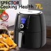 Picture of Spector New 7L Air Fryer LCD Health Cooker Low Oil Rapid Deep Frying 1800W Black | Free Delivery