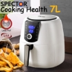 Picture of Spector 7L Air Fryer LCD Healthy Cooker Low Fat OilFree Kitchen Oven 1800W White | Free Delivery