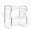 Picture of 3 Tier Stainless Steel Dish Rack Drainer Tray Kitchen Storage Cup Cutlery Holder   Free Delivery