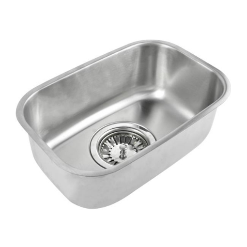 Picture of Kitchen Sink Stainless Steel Under/Topmount Handmade Laundry  Single Bowl | Free Delivery
