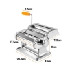 Picture of 150mm Stainless Steel Pasta Making Machine Noodle Food Maker 100% Genuine Silver | Free Delivery